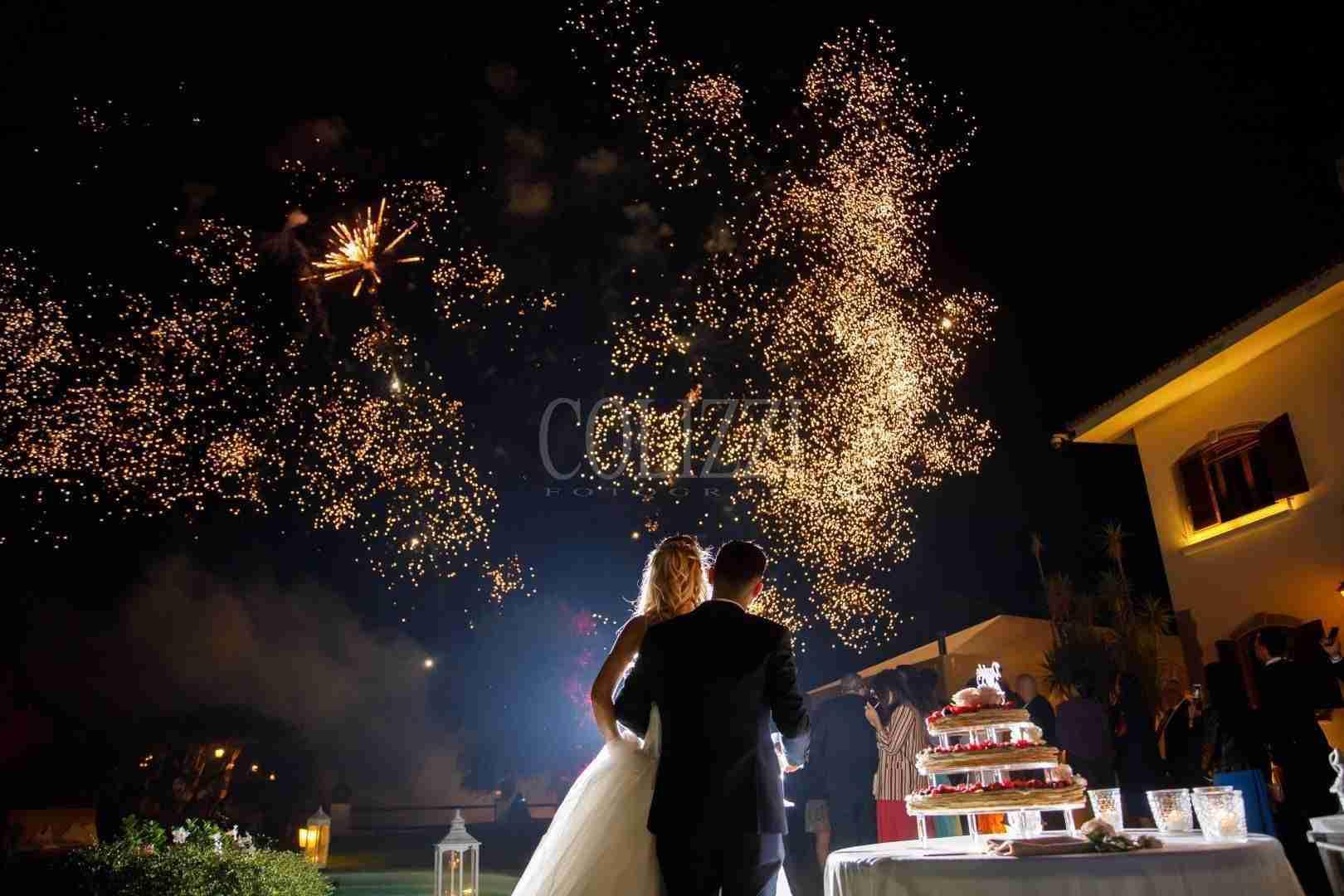 Intrattenimento Matrimonio - Fuochi Artificio